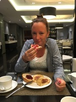 Ontbijten tegen heug en meug