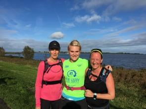 Duurloop (32K) met Maud en Bregje